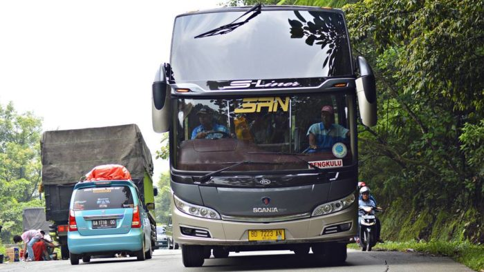 Siliwangi Antar Nusa (SAN) S-LINERSCANIA K360iB by @abeliospotters